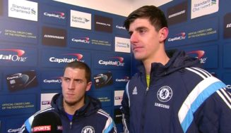 Chelsea fans go crazy after Thibaut Courtois social media post